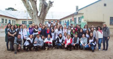 Homenaje a las Maestras del turno tarde del C. E. Jorge A. Newbery