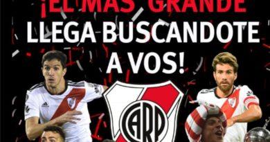El Club Atlético River Plate vendrá a Las Higueras a probar jugadores de categorías 2005 a 2012