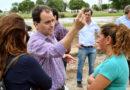 Río Cuarto, Llamosas llevó a cabo su gestión desde el CGM Banda Norte