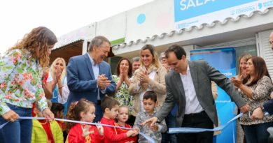 En Río Cuarto, Schiaretti inauguró la Sala Cuna 421