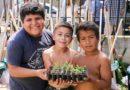 """""""Cosechando para mi Familia"""": más kits de huerta a familias de Río Cuarto"""