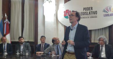 Se presentó el Proyecto de Presupuesto Provincial 2020 en la Legislatura de Córdoba