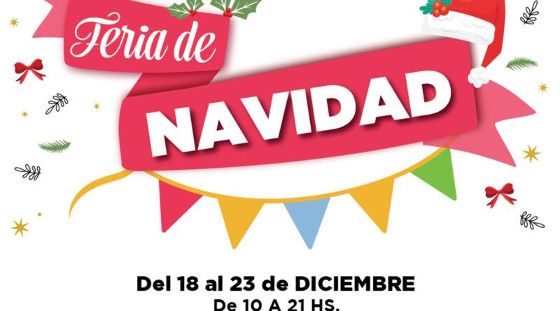 Tercer año de la Feria de Navidad en en Paseo del Viejo Mercado de Río Cuarto
