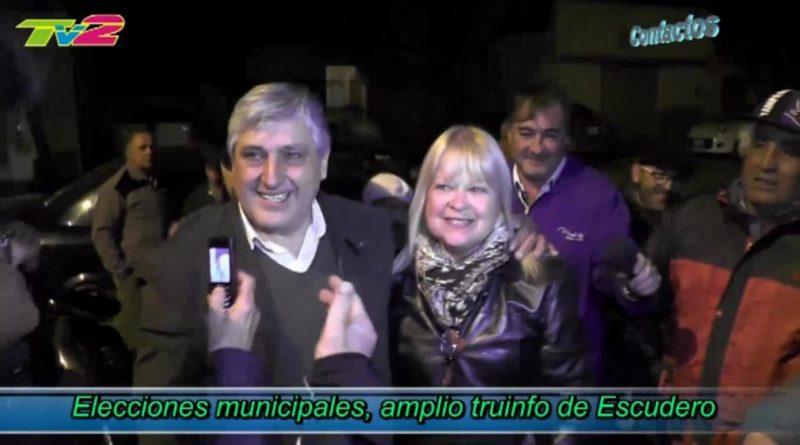 Video proyectado en el acto de reasunción de Alberto Escudero, incluye algunos de los momentos de los 12 años de gestión.