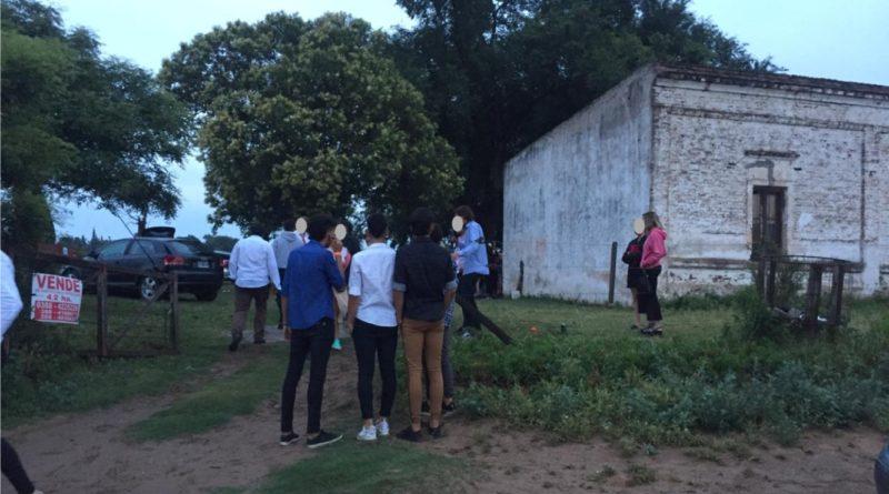 """Clausuraron una fiesta clandestina""""after party""""en una quinta ubicada en Las Higueras"""