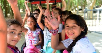 Más de 4 mil personas ya disfrutaron del nuevo trencito del Parque Sarmiento de Río Cuarto