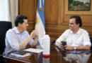 El Intendente Juan Manuel Llamosas se reunió con el Ministro del Interior