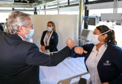 Alberto Fernández: «La única preocupación que tenemos es salvar vidas»