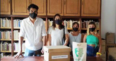 La Biblioteca Municipal recibió la obra completa de la escritora Betty Medina Cabral