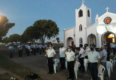 Chucul conmemoró su 261° Aniversario con un acto frente al edificio comunal