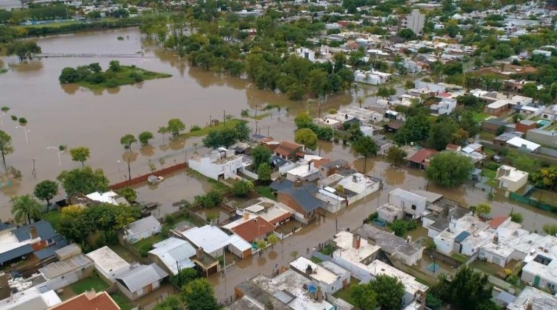Marcos Juárez: relevan daños para asistir a damnificados por la tormenta
