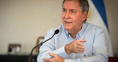 El Gobernador Schiaretti se someterá a una cirugía por un quiste de riñón