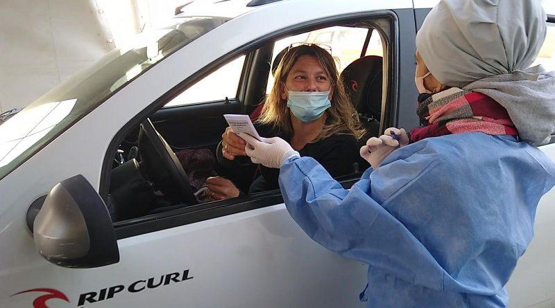 Este viernes vacunaron en el SUM a 300 personas con segunda dosis de Astrazeneca